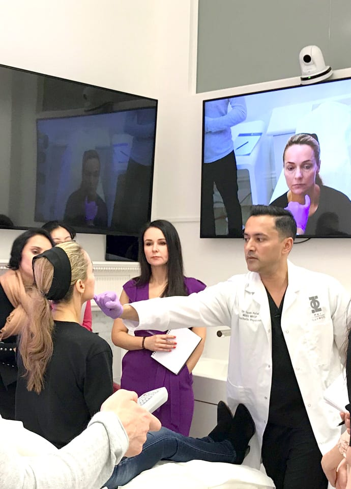 Botox® and fillers: who to see - dr tapan training day london