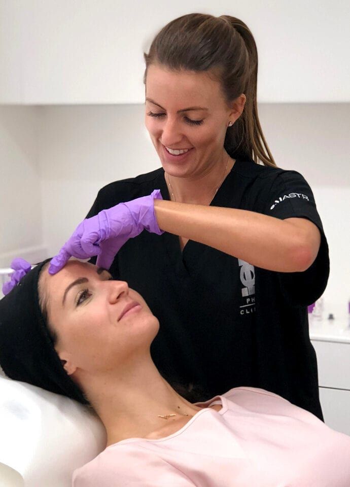 Who Will Perform My Treatment? - forehead lines botox london 690x960 1 690x960