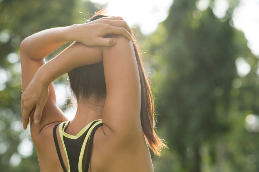 exercising and excessive sweating